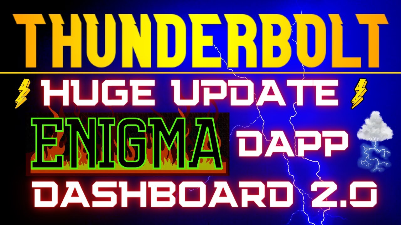THUNDERBOLT FINANCE UPDATE - 2 WEEK REVIEW - HUGE NEWS AND BIG THINGS COMING DOWN THE PIKE thumbnail
