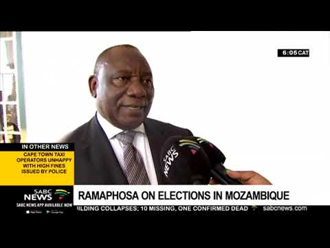Mozambique Elections | Ramaphosa wishes Mozambique a successful election