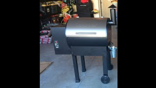 traeger lil tex elite 22 unboxing and assembly