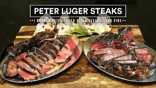 Sous Vide PETER LUGER STEAK Experience!