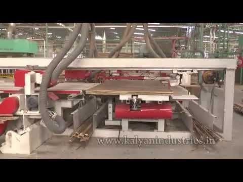 Automatic Plywood Double Sizer  (ZX - 4x8- SZ)