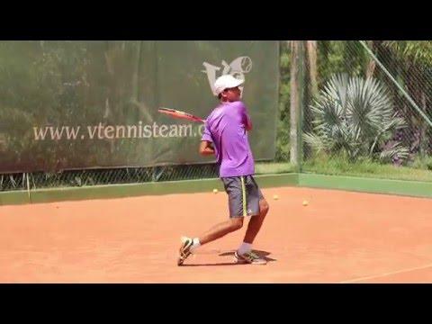 Treinamento Competitivo de Tênis