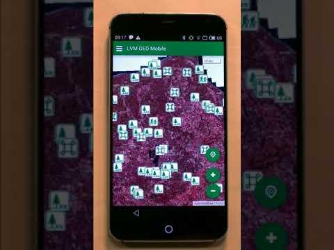 """""""LVM Geo mobile"""" izmantošanas pamācība medniekiem"""