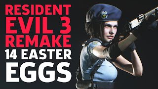 Resident Evil 3 Remake: 14 Easter Eggs and References