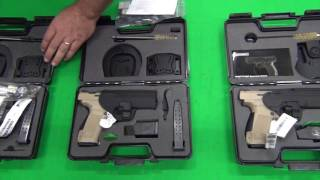 Canik TP9SA 9mm Pistol w/ 2- 18 Round Mags, Hard Case and