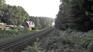 preview picture of video 'Lausitzer Dampflokclub auf der Tharandter Rampe'