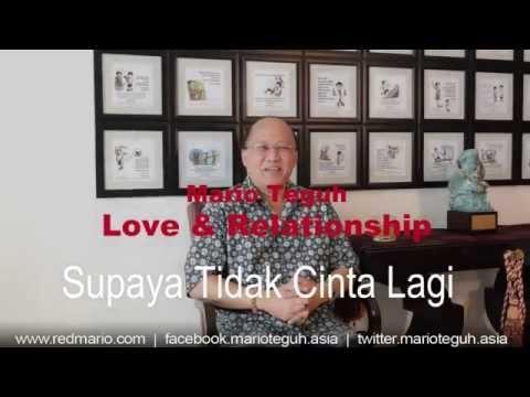 Video Supaya Tidak Cinta Lagi - Supaya Bisa Move On - Mario Teguh Love & Relationship