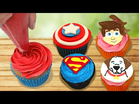 Cupcake Mania | Cupcake Decorating Ideas And Techniques | Part 2 | Hoopla Recipes