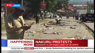 Nakuru residents stage protests over poor sanitation in area