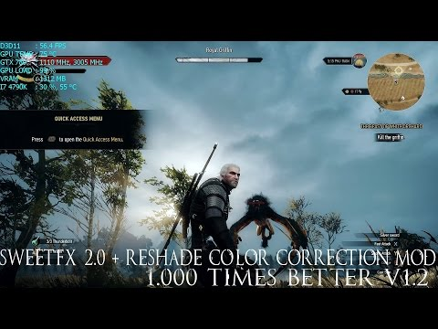 SweetFX 2 0 + Reshade Color Correction Mod - 1 000 Times Better v1 2