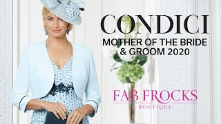 Condici Mother Of The Bride & Groom 2020 Dresses And Outfits At Fab Frocks Boutique