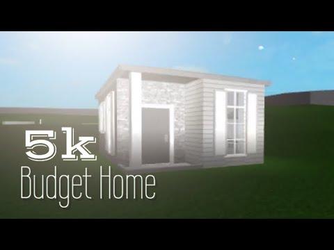 No Gamepass 12k Budget Home Bloxburg Roblox Smotret