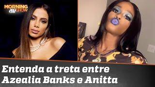 Azealia Banks chama Anitta de lixo. Veja a resposta da brasileira