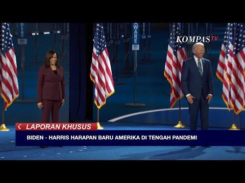 Joe Biden - Kamala Harris Harapan Baru Amerika di Tengah Pandemi - LAPORAN KHUSUS (Bag 3)