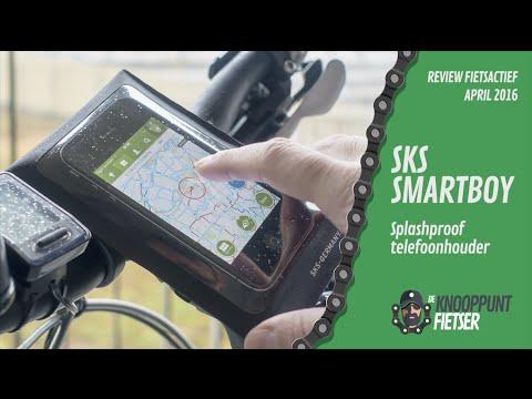 #02 Review SKS Smartboy Telefoonhouder | de Knooppuntfietser | FietsActief
