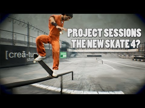 PROJECT SESSION game, the new EA SKATE?