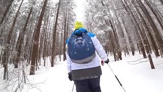 Мысливка,мартовский поход в горы,танец альпиниста.
