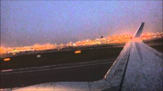 United Airlines Boeing 737-900 Takeoff from DFW