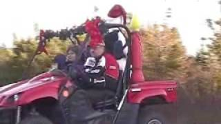 preview picture of video 'Lions Santa Parade 2008'