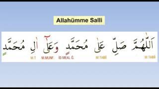 ALLAHÜMME SALLİ EZBERLE (5 TEKRARLI NAMAZ DUALARI)