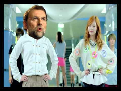 Marianosh Rajoy feat. PSY. Moncloa Style!