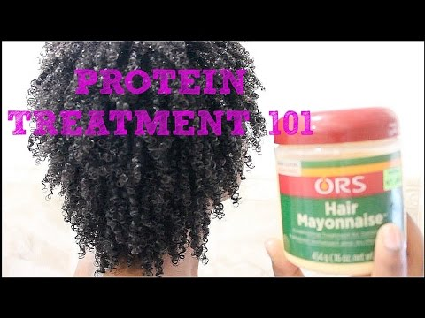 Protein Treatment 101 + DEMO using ORS Hair Mayonnaise (MUST WATCH!)