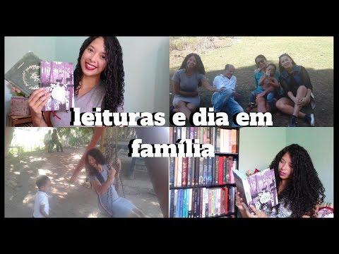 DIA DOS PAIS E NOVAS LEITURAS - Vlog