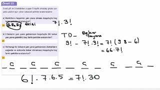 Eğitim Vadisi 10.Sınıf Matematik 2.Föy Sayma ve Olasılık 2 Konu Anlatım Videoları