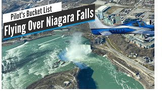 Flying Over Niagara Falls in a Cirrus