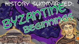 History Summarized: Byzantine Empire — Beginnings