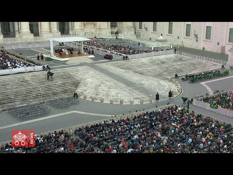 Pope's General Audience of 26 February 2020