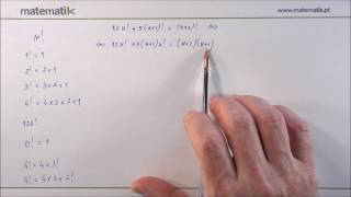 O que é um factorial?