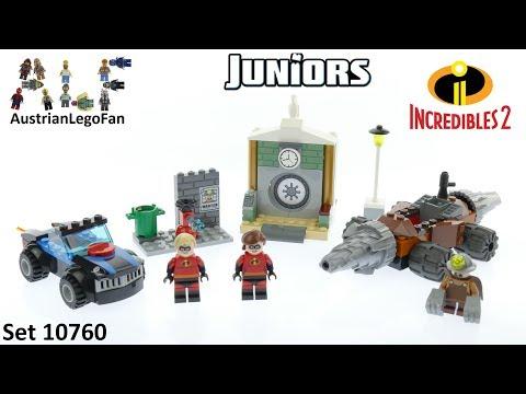 Vidéo LEGO Juniors 10760 : Les Indestructibles 2: Le braquage d'une banque du Démolisseur