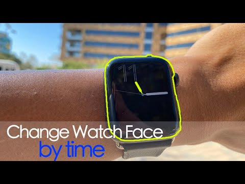 Apple Watch - Automatically Change Your Face by Time