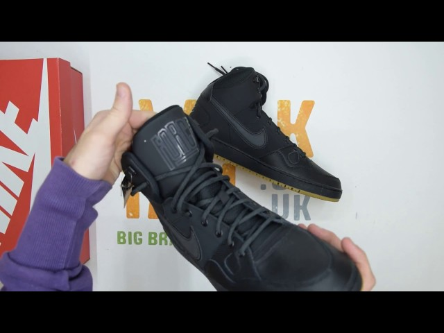 db6705131f8c5 Nike Son of Force Mid Winter - Black - Unboxing | Walktall 01:26 9,098