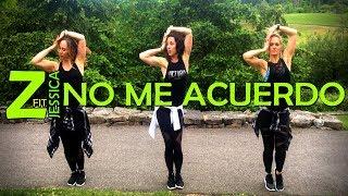 No Me Acuerdo - Thalia (Feat. Natti Natasha) || ZumbaFitJessica