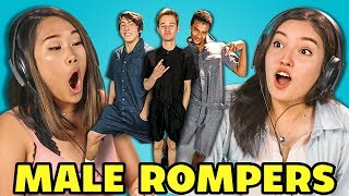TEENS REACT TO MALE ROMPERS (#ROMPHIM)