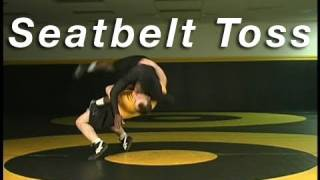 Wrestling Moves CARY KOLAT Single Leg to Seatbelt Toss
