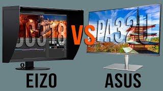 EIZO CG318-4K v ASUS ProArt PA32UC Review