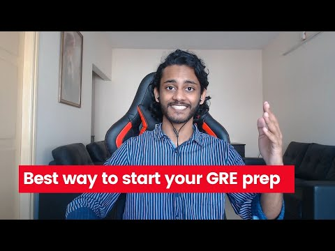 3 simple steps to start your GRE prep | Best textbooks, resources, strategies