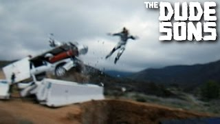 Back-Breaking Failed Car Stunt!
