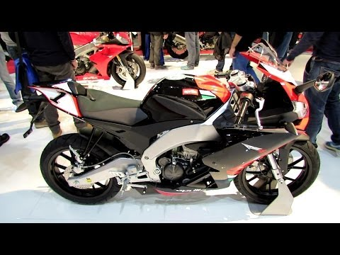 2014 Aprilia RS4 125 Walkaround - 2013 EICMA Milan Motorcycle Exhibition