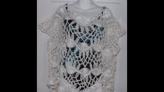 Hairpin Lace Summer Blouse Part 2.