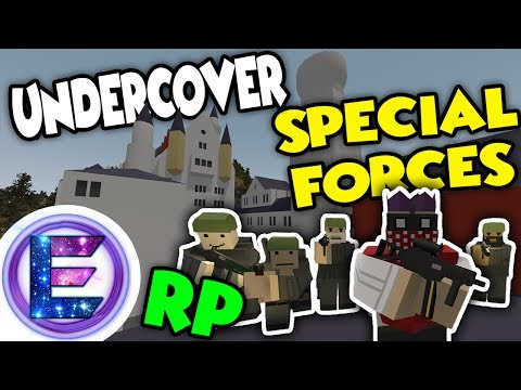 UNDERCOVER SPECIAL FORCES! - Attack the Neuschwanstein castle Berry farm - Unturned RP ( Spec ops )