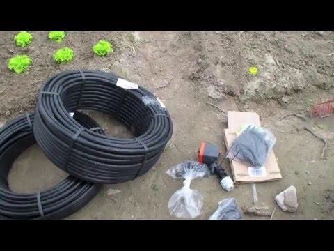 Selbstversorger Garten - Mein Bewässerungsystem Teil 1