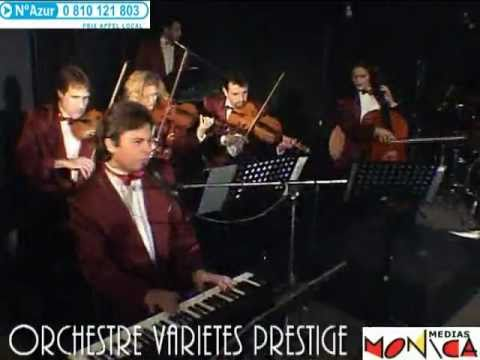 ORCHESTRE VARIETES PRESTIGE : Chanson francaise Rock Soul Jazz