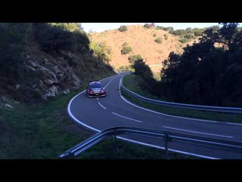 WRC Rally Racc tramo Duesaigües 2014.