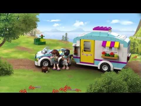 Vidéo LEGO Friends 41034 : La caravane des vacances