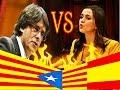 Tenso rifirrafe entre Inés Arrimadas y Carles Puigdemont sobre los funcionarios catalanes.