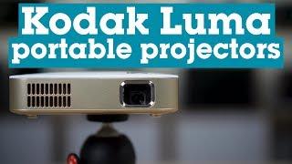 Kodak Luma portable DLP projectors   Crutchfield